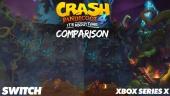 Crash Bandicoot 4 - Xbox One, Nintendo Switch, and Xbox Series Comparison