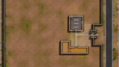 Prison Architect - Alpha-Gameplay