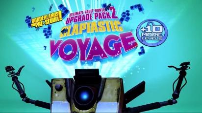 Borderlands: The Pre-Sequel – Claptastic Voyage & UVHUP2 Trailer