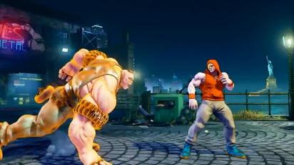 Street Fighter V - Abigail Reveal Trailer
