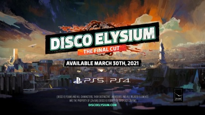 Disco Elysium - The Final Cut Date Reveal Trailer