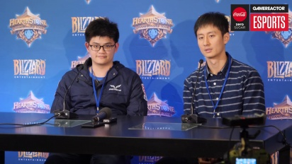 Hearthstone World Championship 2018 - tom60229 Press Conference