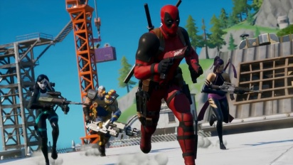 Fortnite - X-Force Joins Deadpool Trailer