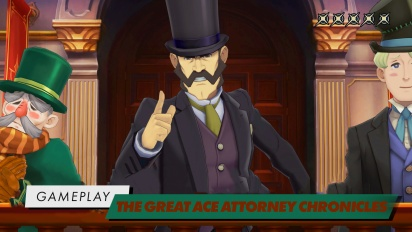 The Great Ace Attorney Chronicles - Gameplay