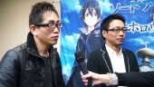 Sword Art Online: Hollow Realization - Yosuke Futami & Hiroshi Hirayae Interview
