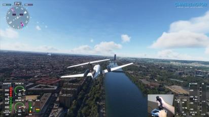 Microsoft Flight Simulator - A Quick Flight Over Seville with TCA Sidestick Airbus Edition