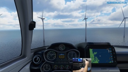 Microsoft Flight Simulator - A Quick Flight Over Copenhagen with a Thrustmaster Stick