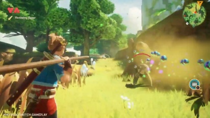 Oceanhorn 2: Knights of the Lost Realm - Nintendo Switch Gameplay