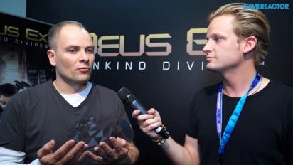 Deus Ex: Mankind Divided - Gameplay Director Interview
