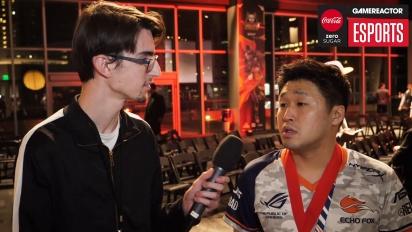 Tekken World Tour finals - Saint Interview