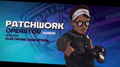XCOM: Chimera Squad - Agent Profiles: Patchwork