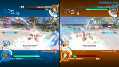 Pokkén Tournament DX - Split-screen Multiplayer Gameplay