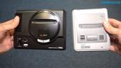 Mega Drive Mini VS SNES Mini - Hardware Comparison