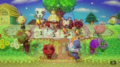 Animal Crossing Amiibo Festival - E3 2015 Announcement Trailer