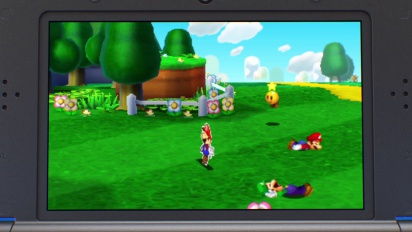 Nintendo 3DS – Mario and Luigi Paper Jam Launch Trailer