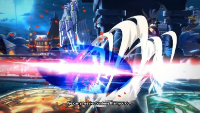 BlazBlue: Cross Tag Battle - Europe Announcement Trailer
