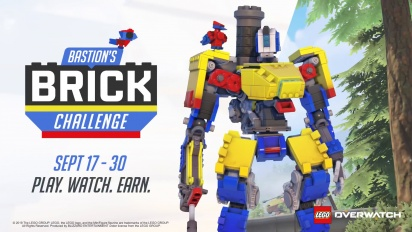 Overwatch - Bastion's Brick Challenge