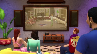 The Sims 4 Movie Hangout Stuff - Trailer