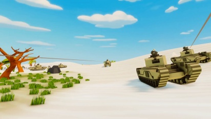Total Tank Simulator - Release Date Trailer PEGI