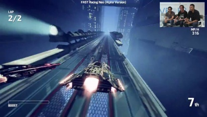 Fast: Racing Neo - Nintendo Treehouse E3 2015 Gameplay