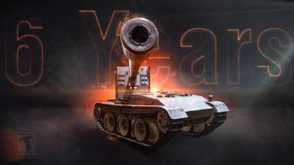 World of Tanks Mercenaries - 6th Anniversary Legacy Video