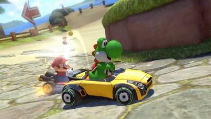 Mario Kart 8 Deluxe - First trailer