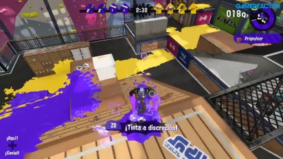 Splatoon 2 - Global Testfire Demo 60fps Gameplay - Turf War at Musselforge Fitness II