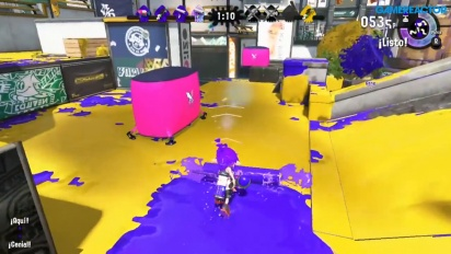 Splatoon 2 - Turf War at The Reef I