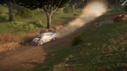 WRC 9 - Safari Rally Kenya Gameplay