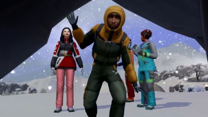 The Sims 4 Snowy Escape: Official Gameplay Trailer