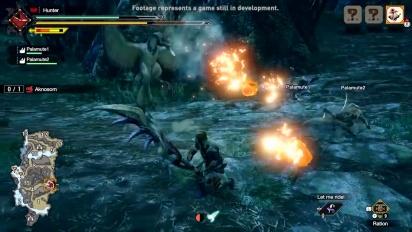 Monster Hunter Rise - Great Sword Gameplay Trailer