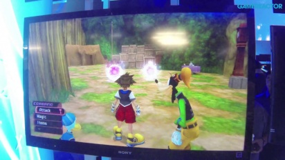E3 13: Kingdom Hearts HD 1.5 Remix - Gameplay