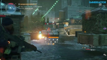 The Division - PVE Late Game Gameplay
