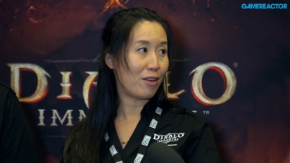 Diablo Immortal - Helen Cheng and Dan Elggren Interview