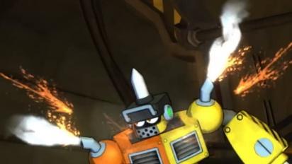 Mega Man 11 - Impact Man Intro Video