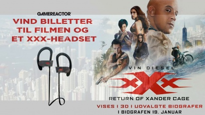xXx: Return of Xander Cage - Konkurrence Trailer #2