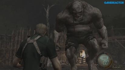 Resident Evil 4 HD - Boss Fight El Gigante Gameplay