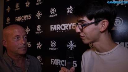 Far Cry 5 - Tony Gronick Interview