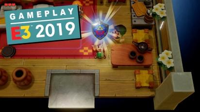 The Legend of Zelda: Link's Awakening - E3 2019 Gameplay