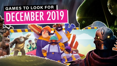 Games to Look For - December 2019