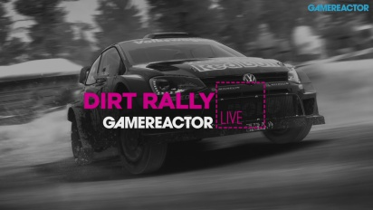 Dirt Rally with Logitech Racing Wheel - Livestream Replay