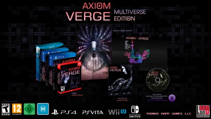 Axiom Verge: Multiverse Edition - Nintendo Switch Announcement Teaser