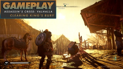 Assassin's Creed Valhalla - Gameplay #1 Clearing King's Bury