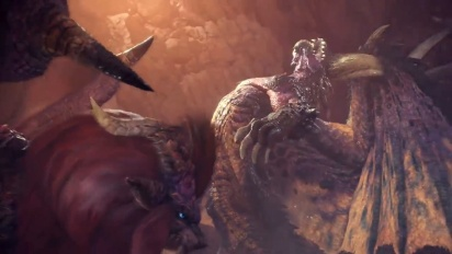 Monster Hunter: World – – Lunastra Free Update Trailer