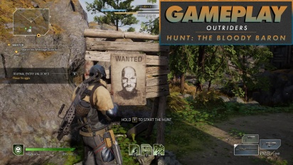 Outriders - Hunt The Bloody Baron Gameplay