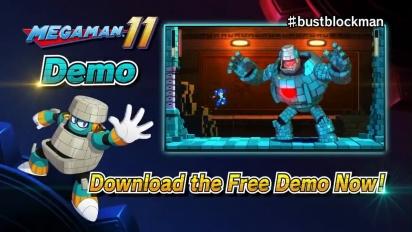 Mega Man 11 - Demo Trailer