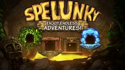 Spelunky - PS3 & PS Vita Release Trailer
