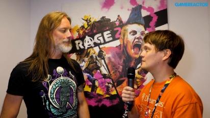 Rage 2 - Magnus Nedfors E3 Interview