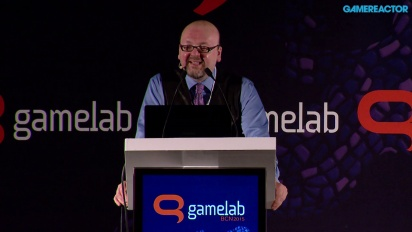 David Gaider: Narrativen i spil - udfordringen i forhold til forventningen - Fuldt Gamelab 2015 Panel