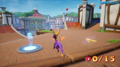 Spyro: Reignited Trilogy - Sunny Villa Gameplay